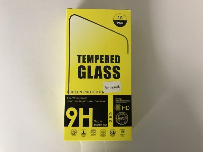 Wholesale Tempered Glass Screen Protectors for iPhone 7-6-6s-5s-5c-5g (10pcs a pack) - Simtek World