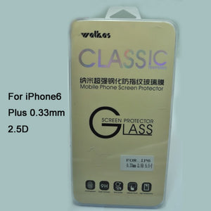 Valkaså¨ 0.33mm 9H Tempered Glass Screen Protector For Apple iPhone 6 Plus (DG-A19301) - Simtek World
