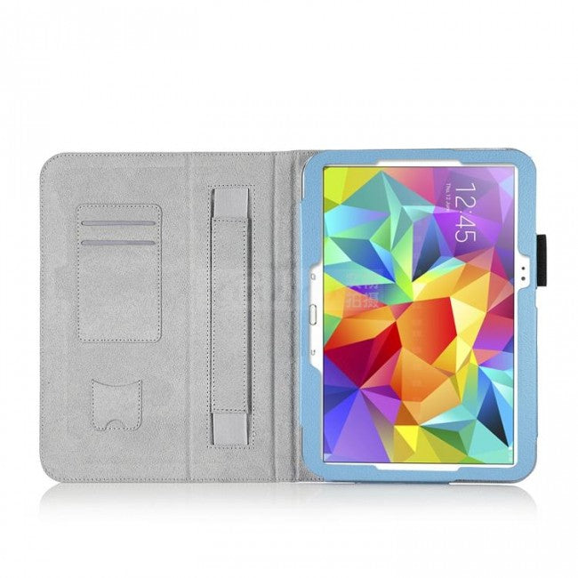 Slim Folio PU Leather Stand Cover Book Case For Samsung Galaxy Tab S 10.5 Inch - Simtek World