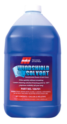 Malco Windshield Solvent Concentrate