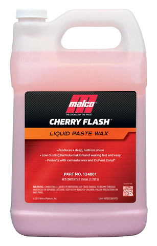 Malco Cherry Flash Liquid Paste Wax
