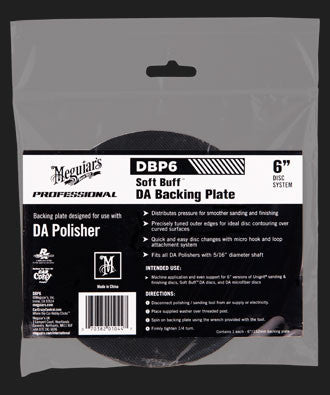 DBP6 DA Backing Plate-6in.