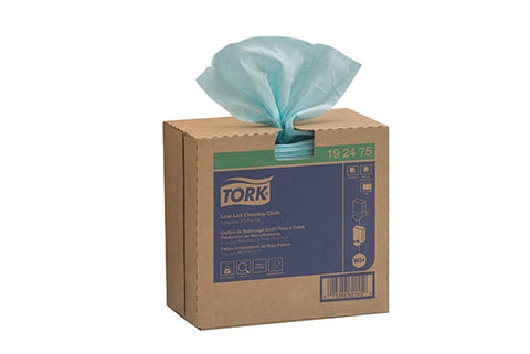 Tork Specialist Low Lint Cleaning Cloth, Pop Up Box