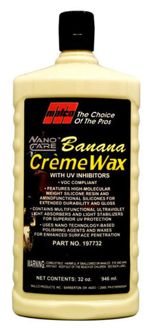 Malco Nano Care™ Banana Creme Wax