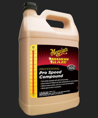 M100 Mirror Glaze® Pro Speed Compound-1gal.