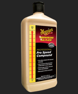 M100 Mirror Glaze® Pro Speed Compound-32oz.