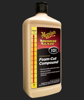 M10132 Mirror Glaze® Foam Cut Compound-32oz.