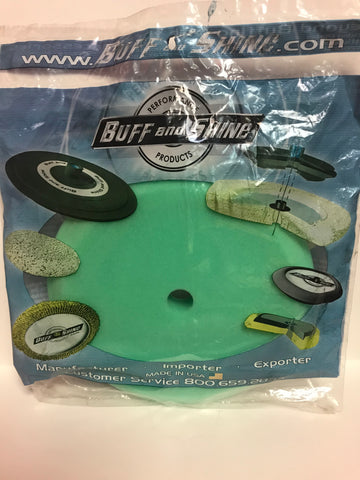 Buff & Shine Green Contour pad 8""