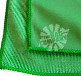 Green 16 X 16 Microfiber Glass & Window Towel