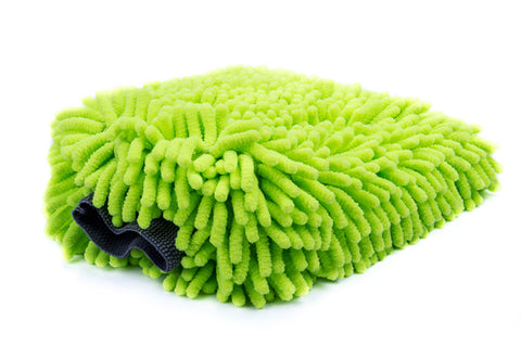 Power Green Chenille Wash Mitt