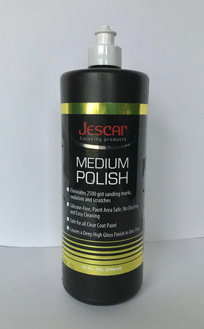 Jescar Medium Polish-32oz.