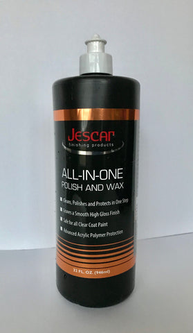 Jescar All-In-One Polish & Wax-32oz.