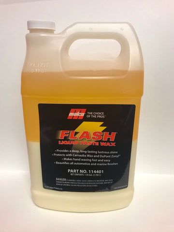 Malco Flash Liquid Paste Wax