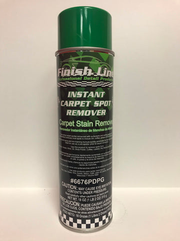 Finish Line Instant Carpet Spot Remover