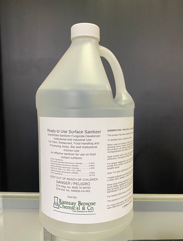 P&S RTU Surface Sanitizer-1gal.