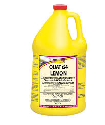 Simoniz Quat 64 Lemon Germicidal Disinfectant
