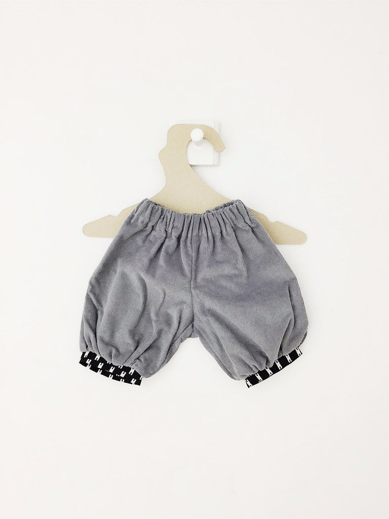 Knickers Oeillet Gris