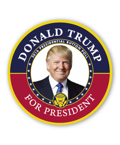 Trump Pence Campaign Button