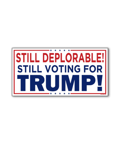 Deplorable and Proud Sticker