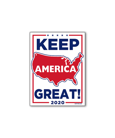 Land of the Free Bumpersticker Car Magnet