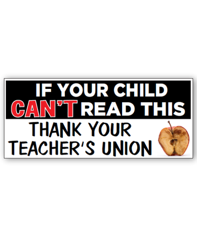 Can't Read This Bumpersticker Car Magnet