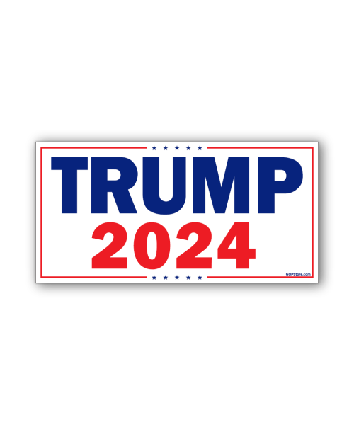 Trump 2024 Bumpersticker Car Magnet