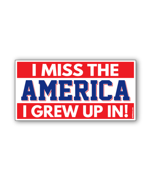 I Miss The America Bumpersticker Car Magnet