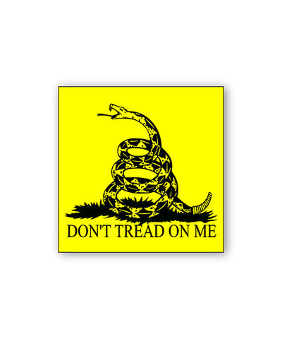 Don't Tread on Me Bumpersticker Car Magnet
