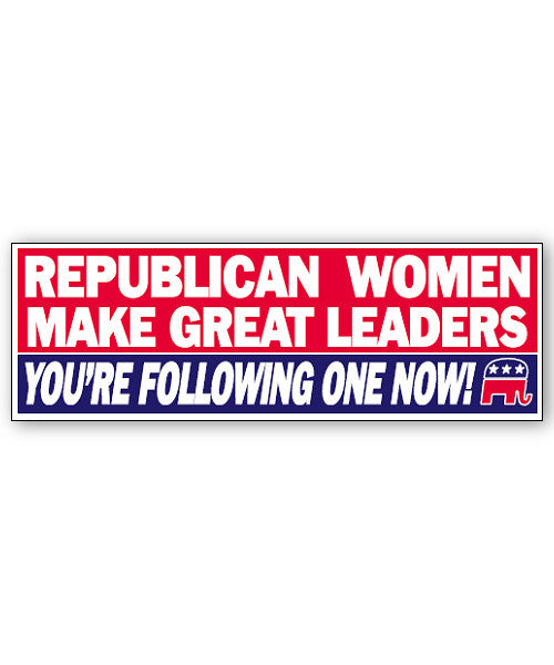 Republican Women Sticker