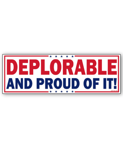 Still Deplorable Sticker
