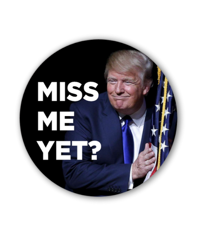 Trump Pence 2020 Photo Button