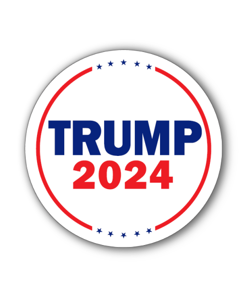 Trump 2024 Button