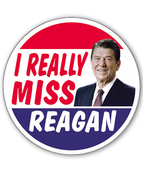 Really Miss Reagan Button Magnet