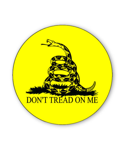 Don't Tread on Me Button Magnet