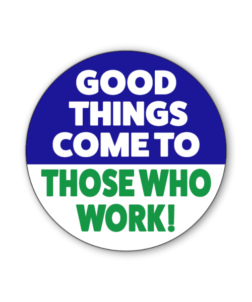 Good Things Button Magnet