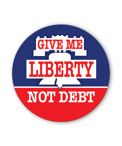 Give Me Liberty Button