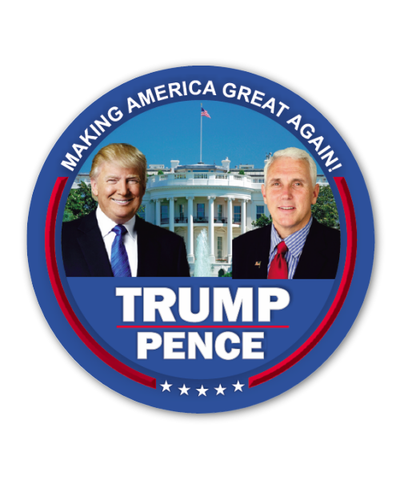 Trump Pence Button