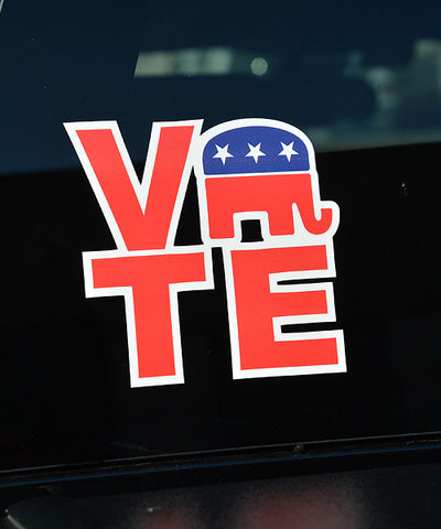 VOTE Block Decal