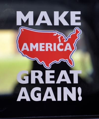Make America Great Again! Decal