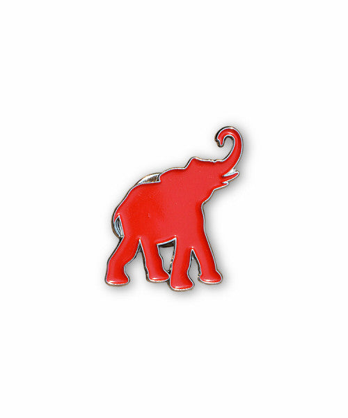 Red Elephant Lapel Pin