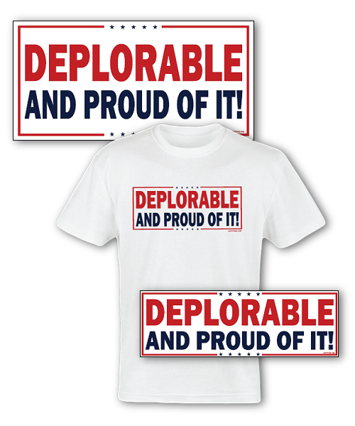 Deplorable and Proud Pack