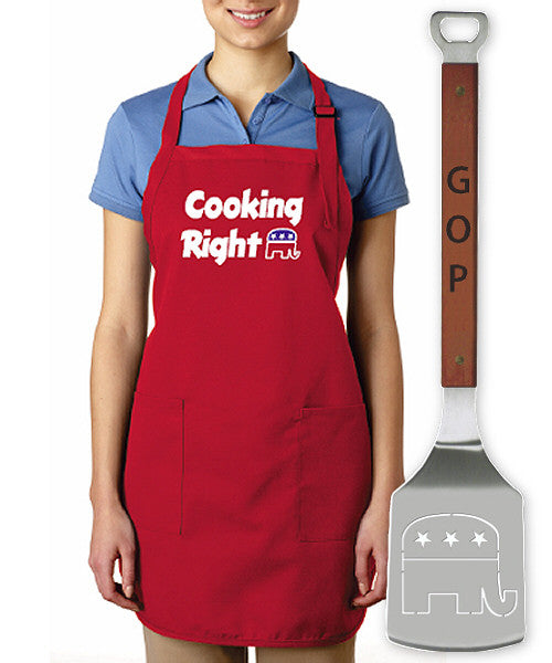 GOP Apron/Spatula Set