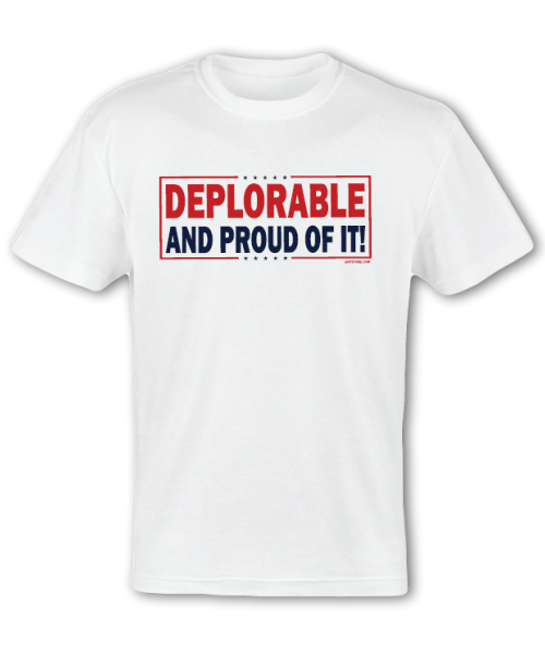 Deplorable and Proud Tee