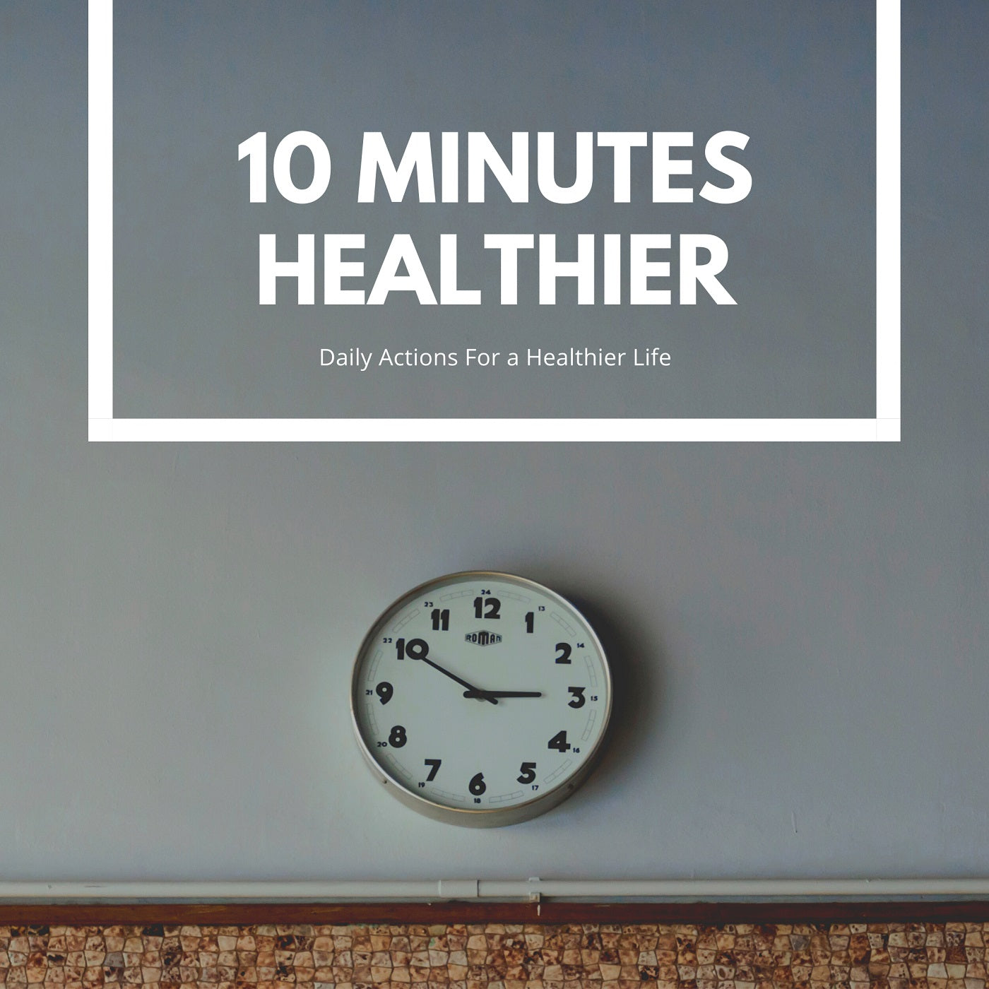 10 Minutes Healthier:  Burger She Wrote
