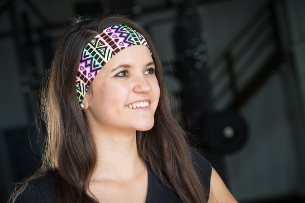 Neon Tribal Headband