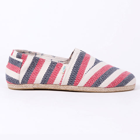 PAEZ Original  RAW - WIDE STRIPES NAVY/RED