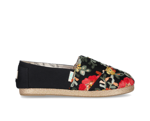 PAEZ Original RAW EMBROIDERY BLACK (vegan)