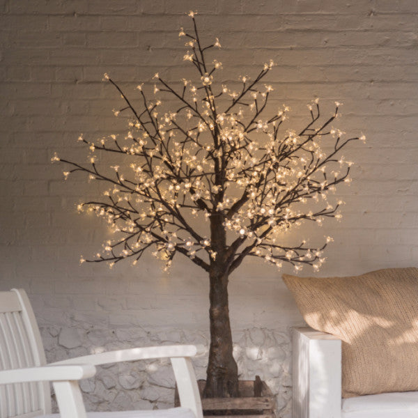 Enchanted Tree - 1.5 metre LED White Blossom, No Leaves