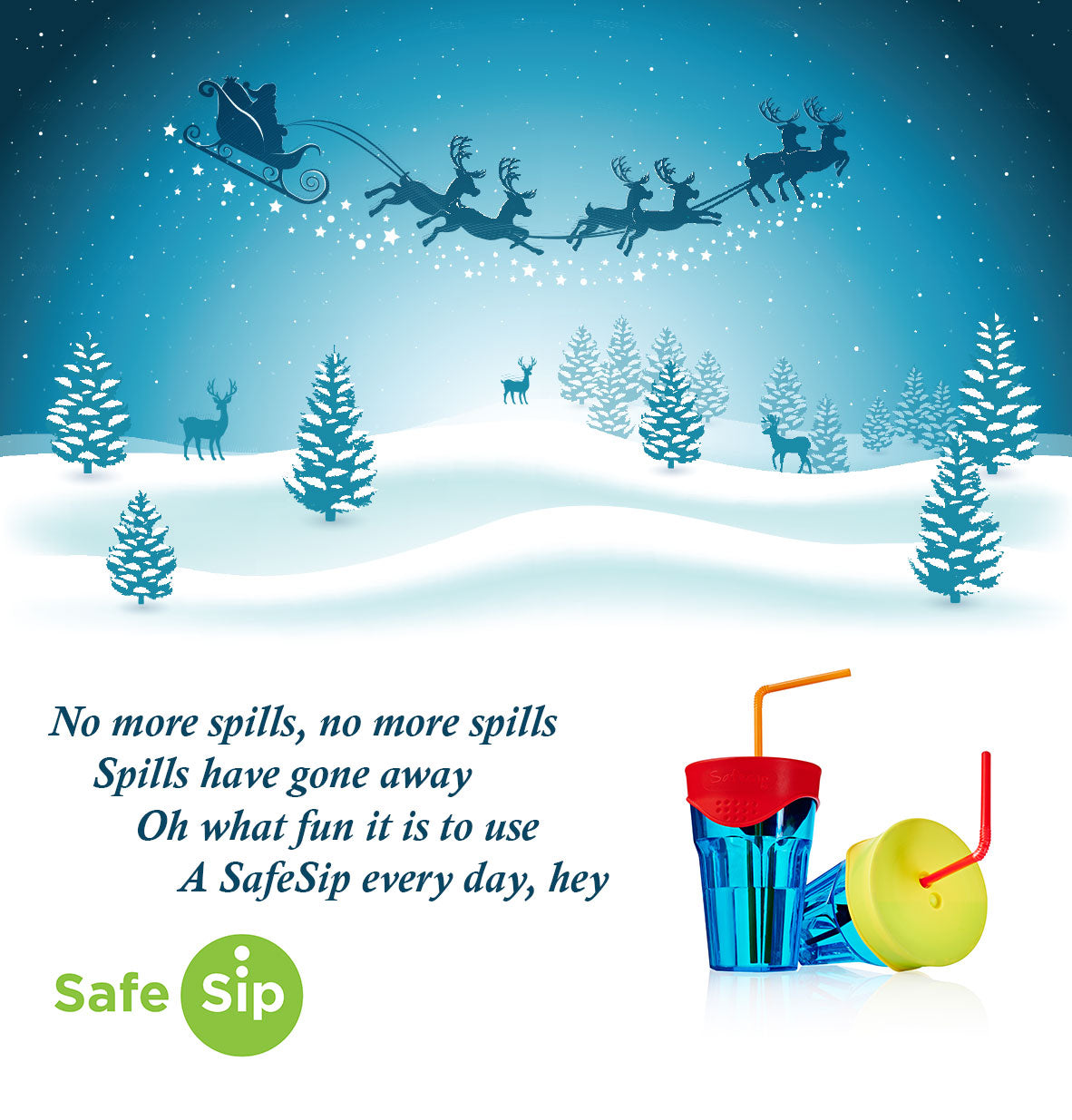SafeSip Jingle Bells