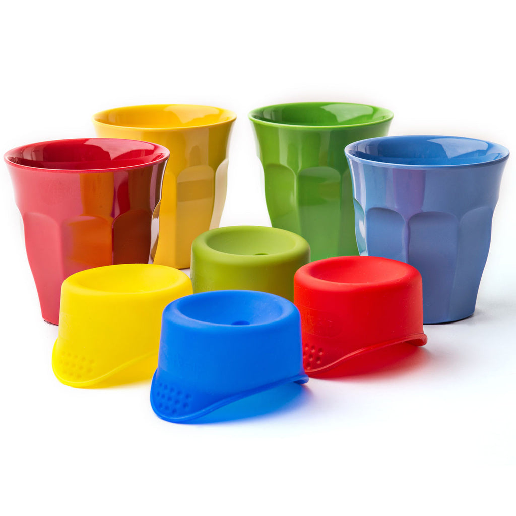 Kids Pack - Melamine Rice Cups and SafeSips